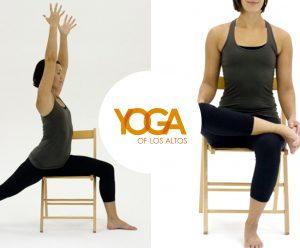 Yoga of Los Altos - Chair yoga with Cheryl Anderson